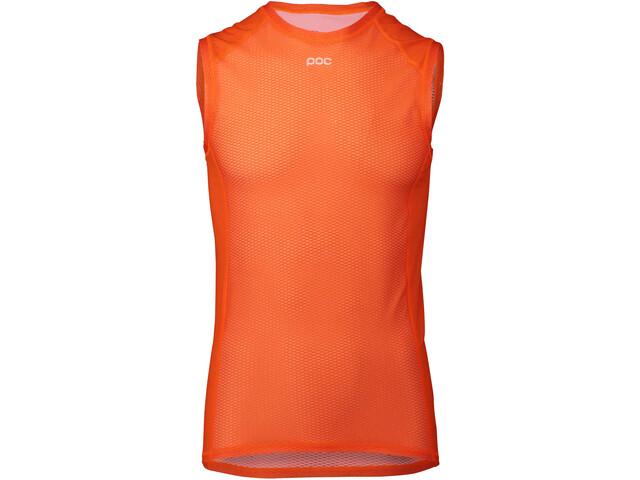 POC Essential T-shirt sans manches Homme, zink orange